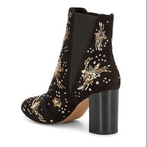 251b07fb5 Rebecca Minkoff Shoes - Rebecca Minkoff Embroidered Sequin Ankle Boots